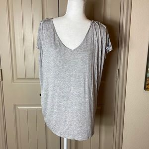 Velvet by Graham and Spencer Andie Cut Out Tee